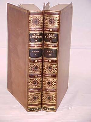 Emma Vols. I-II 1911 leather: Austen, Jane