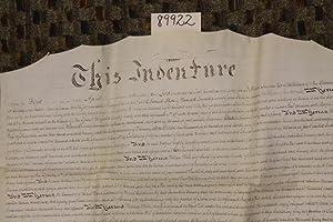 Parchment Deed Elisabeth Township Lancaster Township INDENTURE: Aline, Samuel