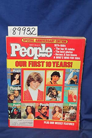 People Weekly Our First 10 Years: People Magazine