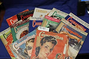 1941 HEARST International - Cosmopolitan Magazine from January 1941 thru December 1941 MISSING ...