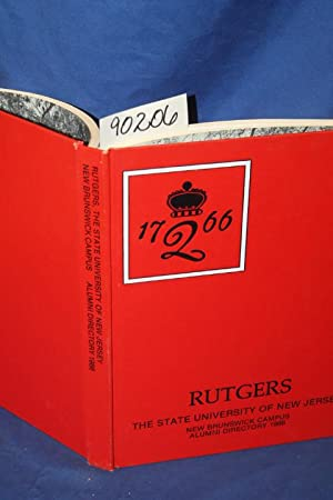 Rutgers The State of New Jersey, New Brunswick Campus Alumni Directory 1986: Rutgers The State of ...