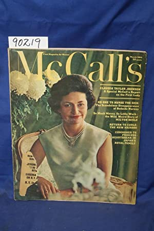 McCall's First Magazine for Women, March 1964, Vol. 41 No. 6: MCCALLS CORP.