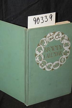 A Browning Calander: Spender, Constance M