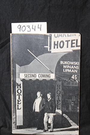 Second Coming Vol. 5, No. 1: Bukowski, Charles; Winans, A. D.; Lipman, Ed