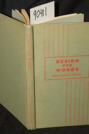 Design For Words: Broman, Jessie Goddard