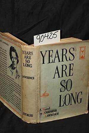 Years are So Long: Lawrence, Josephine