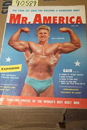 Mr. America Magazine Jan.1958 Vol 1 No 1: Weider, Joseph