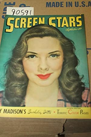 Screen Stars Sept. 1946 Vol 5 No. 6 Kathryn Grayson in color on front cover: Little, Bessie