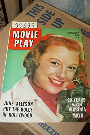 Movie Play Magazine, Jan. 1953, Vol. 7, No. 3 June Allyson on cover: Movie Play Magazine,