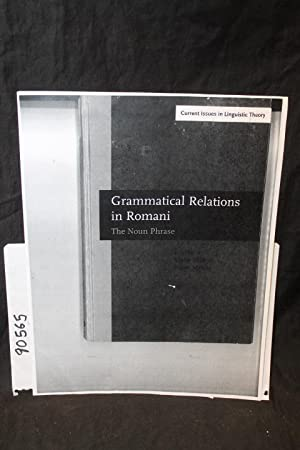 Grammatical Relations in Romani- The Noun Phrase: Elsik, Viktor; Matras, Yaron