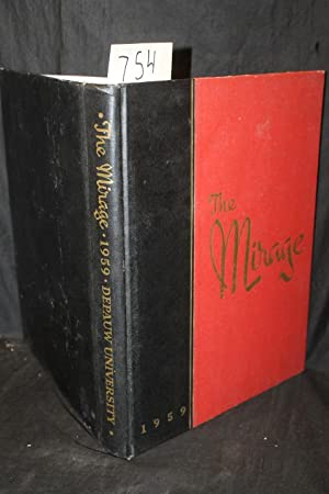 The Mirage, 1959 Yearbook DePauw University Greencastle Indiana: Students of DePauw University