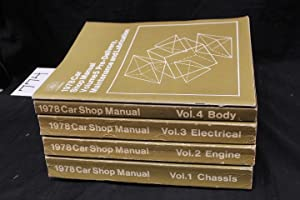 1978 Car Shop Manual Vol 1-5: Ford Parts & Services Div Training & Publications Dept