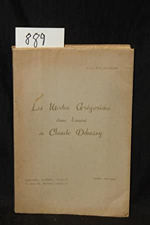 Les Modes Gregoriens dans l'oevre de Claude DEBUSSY: D'Almendra, Julia