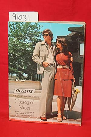 Aldens Spring and Summer Catalog of Values: Aldens