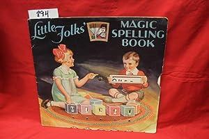 Little Folk's Magic Spelling Book 6 MECHANICAL WHEELS: Whitman Publishing Co.