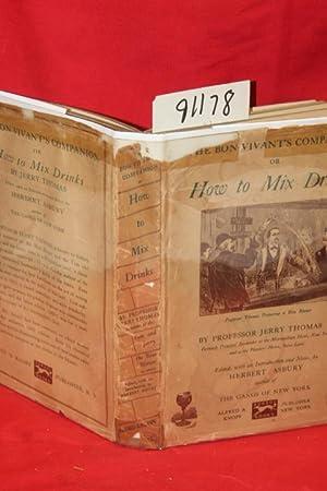 The Bon Vivant's Companion or How to: Thomas, Jerry; Asbury,