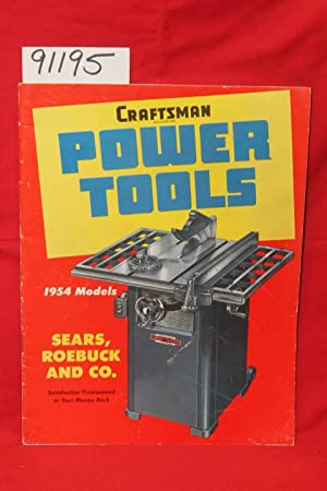 Craftsman Power Tools: Sears, Roebuck & Co.
