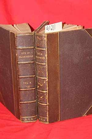 Life of George Washington FIVE VOLUMES COMPLETE IN TWO: Irving, Washington