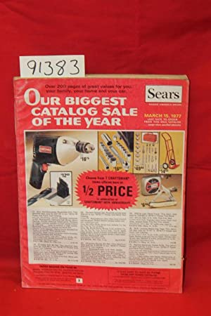 Sears Our Biggest Catalog Sale of the Year 1977: Sears, Roebuck and Co.