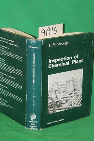 Inspection of Chemical Plant: Pilborough, L.