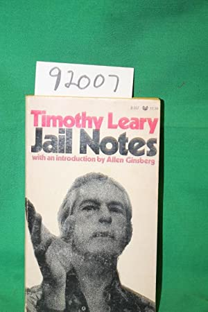Jail Notes with an introduction by Allen: Leary, Timothy; Ginsberg,