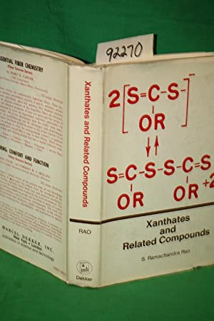 Xanthates and Related Compounds: Rao, S. Ramachandra