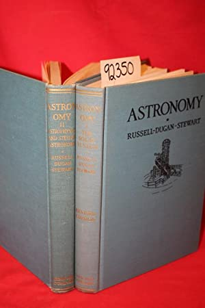 Astronomy :A Revision of Young's Manual of Astronomy (2 Volumes): Russell, Henry Norris & ...
