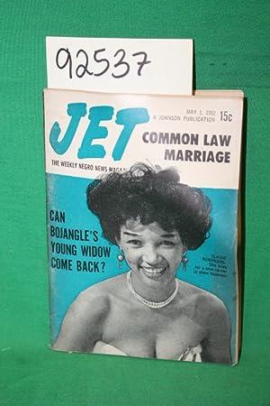 Jet: Common Law Marriage;Elaine Robinson 1952: Jet Magazine