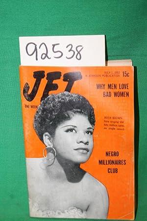 Jet:Why Men Love Bad Women; Ruth Brown: Jet Magazine