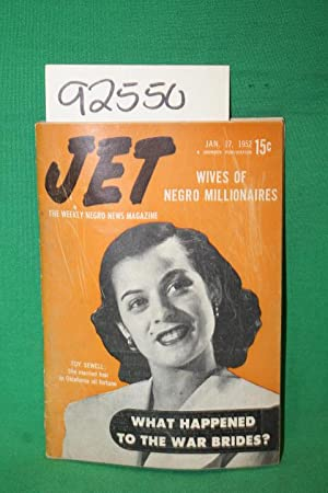 Jet: Wives of Negro Millionaires; Toy Sewell: Jet Magazine