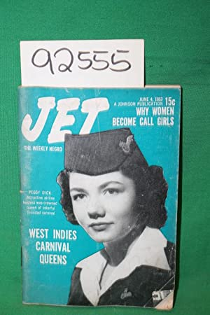Jet: Why Women Become Call Girls; Peggy Dick 1953: Jet Magazine