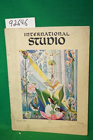 International Studio and The Connoisseur August 1925: International Studio and The Connoisseur