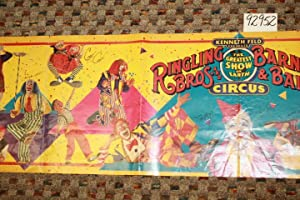 Ringling Bros. and Barnum & Bailey: The Greatest Show on Earth Circus (Poster) 71 X 13: ...