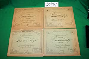 Spencerian System of Penmanship ( Volumes 1,3,and 4: P.R. Spencer