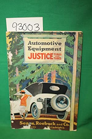 Automotive Equipment: Justice Tires and Tubes Sears,: Sears, Roebuck, and