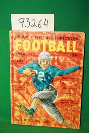 Intercollegiate and Professional Football 1949 Charlie Justice University of North Carolina: Dell ...