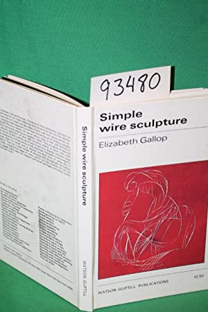 Simple Wire Sculpture: Gallop, Elizabeth