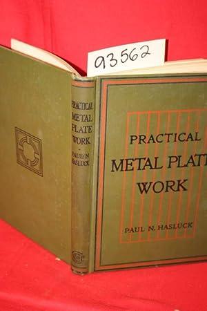 Practical Metal Plate Work: Hasluck, Paul