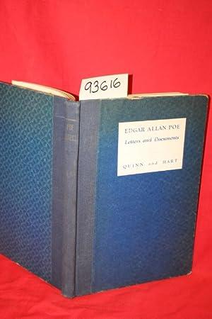 Edgar Allan Poe: Letters and Documents in the Enoch Pratt Free Library: Poe, Edgar Allan; Quinn, ...