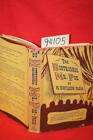 The Historionic Mr. Poe: Fagin, N. Bryllion