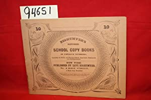 Rightmyer's Revised School Copy Books in Twelve Numbers Penmanship: Rightmyer, Levi