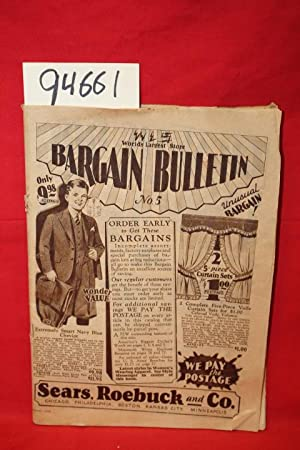 World's Largest Store Bargain Bulletin: Sears, Roebuck and Co.