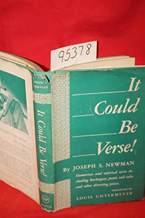 It Could Be Verse!: Newman, Joseph S.