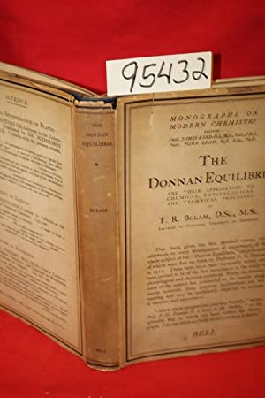The Donnan Equilibria: Bolam, T. R.