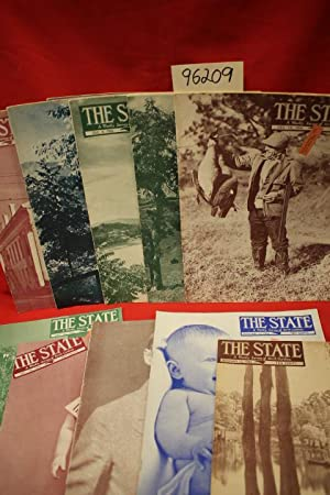 The State a Weekly Survey of North Carolina (12 volumes): State Magazine