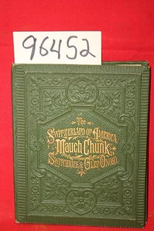 Lehigh Valley Mansion House; Glen Onoko Falls: Whitman Brothers