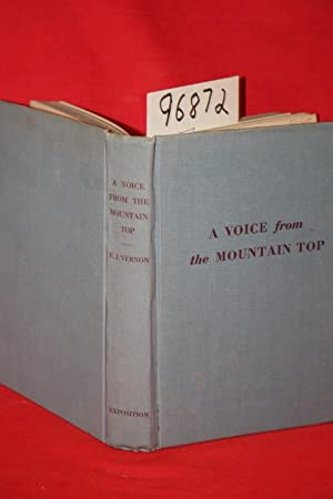 A Voice from the Mountain Top: Vernon, Ethel Joslin