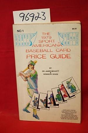 The 1979 Sport American Baseball Card Price: Beckett, Dr. James;