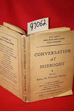 Conversation at Midnight: Millay, Edna St. Vincent