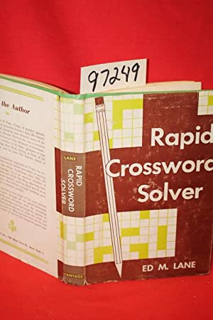 Rapid Crossword solver: Lane, Ed. M.